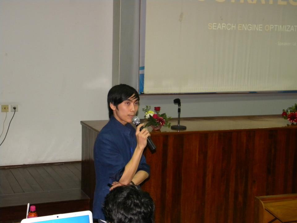 Lê Nam tại hội thảo NukeViet