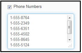 Nhắm mục tiêu theo danh sách số điện thoại